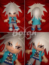 Yami Bakura plush version by Momoiro-Botan