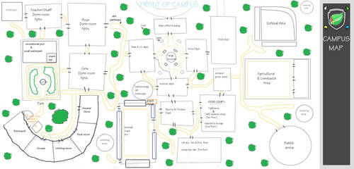 Berry Campus Map
