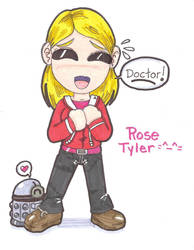 Chibi Rose Tyler by DaMee-Momma