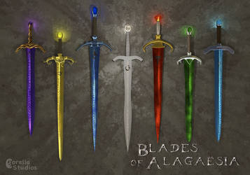 Blades of Alagaesia- Revised by CorellaStudios