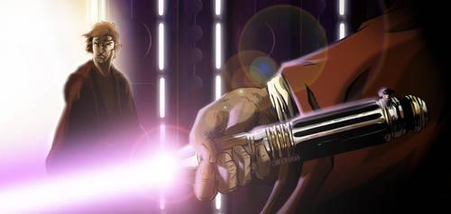 It's not the Jedi way... by WISHKER
