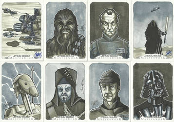 Topps Star Wars Masterwork Sketch Cards 3 by WISHKER
