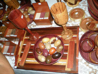 Guyanese Wooden Craft by Khirsah1