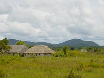 Huts in the rupununi by Khirsah1