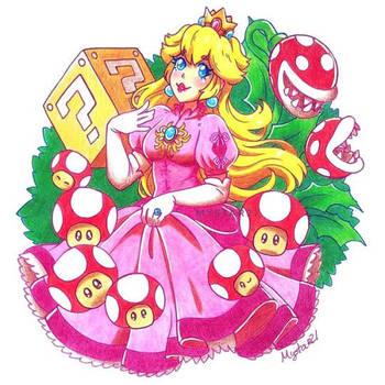 Princess Peach by Mystar21