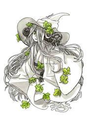 Forest Spirit Witch by Mystar21