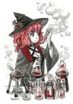 Scientist Witch by Mystar21