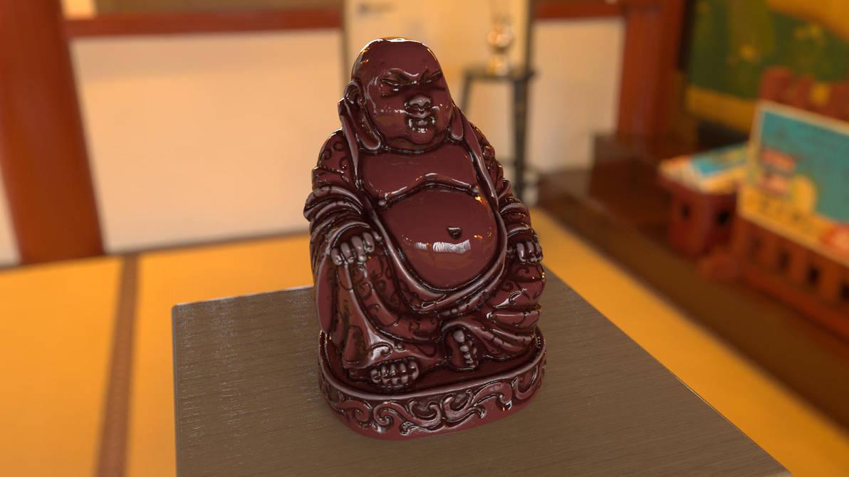 Smilin' Buddha by BarberofCivil