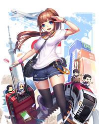 Japan trip by jurrig