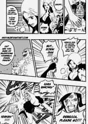 Rokushiki Robin action scene 2 - part 1 by Shinjojin
