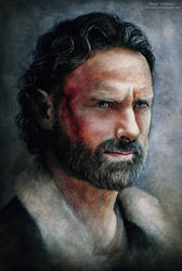 Rick Grimes - The Walking Dead by MeduZZa13