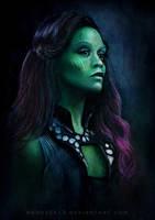 Gamora Guardians of the Galaxy by MeduZZa13