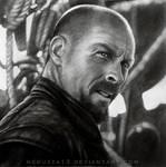 Captain Flint before the battle by MeduZZa13