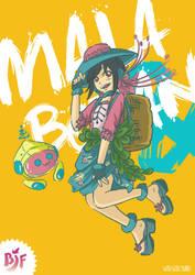 Mala and Botan: Bandung Japan Festival by ddsb