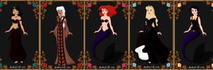 Disney: Seven Deadly Sins by Anele1988