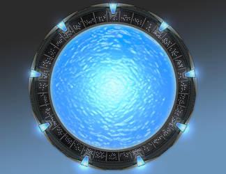 Atlantis Stargate - Final by staus