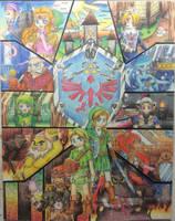 :LegendOfZelda: Ocarina of Time -2016- by Plucky-Nova