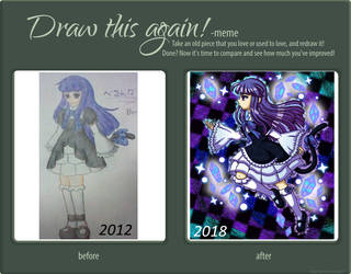 Draw this Again! -Bernkastel- by Plucky-Nova