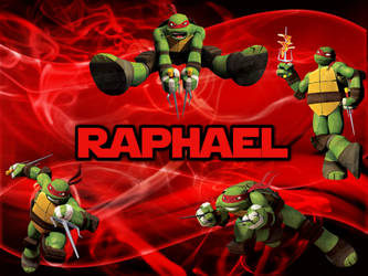 TMNT Raphael wallpaper by NathaliaTMNTlover