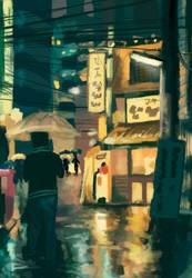 Japan Scene Study by Tsunbleach