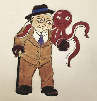 Dr. Vincent L Vander  Mr. Spluid. by KoKeiden