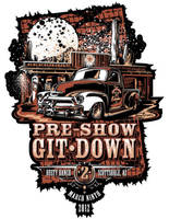 Git Down Poster by flying-polock