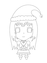 Sucrette: Carmille (Special Noel) -line- by darkel-angel