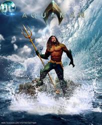 Aquaman Proud King by Gyaldhart