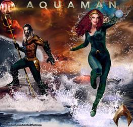 Aquaman-Mera Classic by Gyaldhart