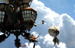 air pirate Geist Ballons by ledious