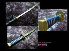 Hisagi Shuuhei's Kazeshini by ice-sabre