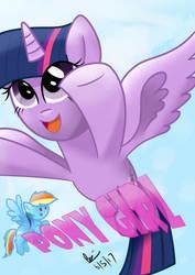Pony Girl by BrianChooBrony-Artie