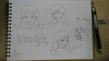 Wendy doodles by BrianChooBrony-Artie