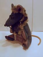 King rat for art doll secret santa by Sci00