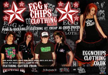 Egg n chips clothing Advert by adda89