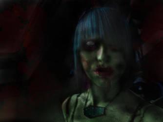 Sarah the zombie by adda89