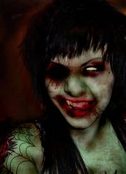 Tricia the zombie by adda89