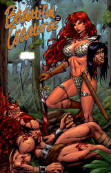 red sonja by wgpencil