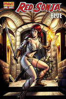 Red Sonja: Blue Cover by wgpencil