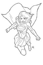 SuperGirl by wgpencil