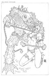 Red Sonja-commission by wgpencil