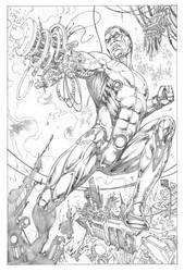 Cyborg by wgpencil