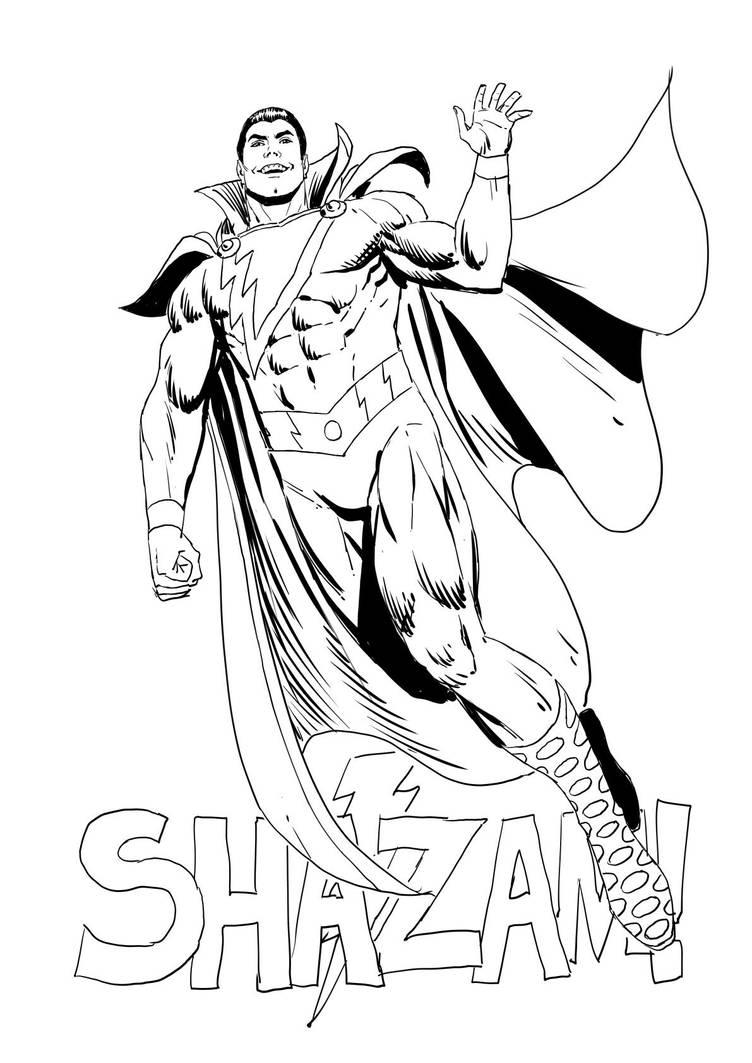 Shazam! by wgpencil
