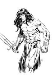 Conan by wgpencil
