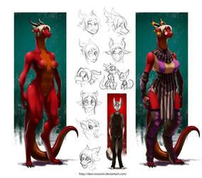 Dragoness by davi-escorsin