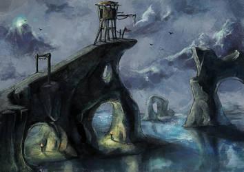 Watchtower by kago-woo