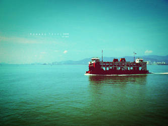 The Red Ferry by kago-woo