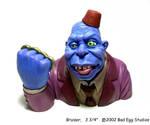 Mr. Blue by TKMillerSculpt