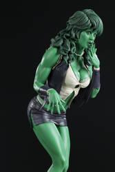 AH She Hulk Color by TKMillerSculpt