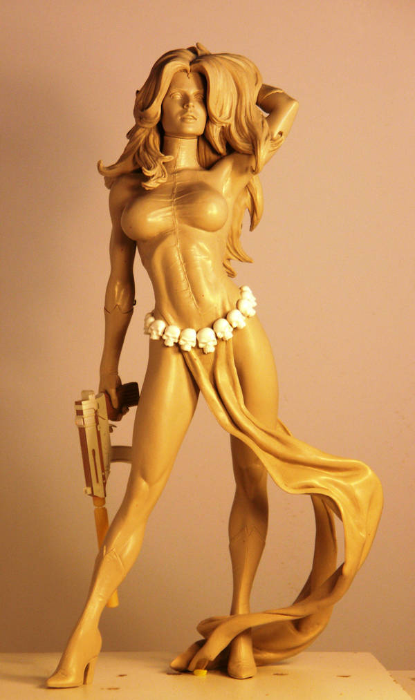AH Mystique Comiquette by TKMillerSculpt